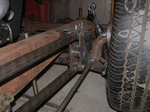 Front axle weldments